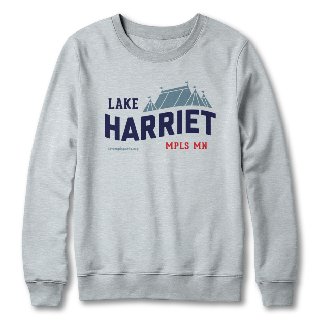 Lake Harriet sweatshirt in heather grey