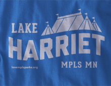Detail of Lake Harriet Long-Sleeve T-Shirt