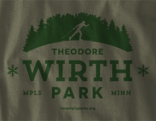 Detail of Wirth Park Long-Sleeve T-Shirt