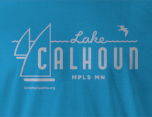 Detail of Lake Calhoun T-Shirt
