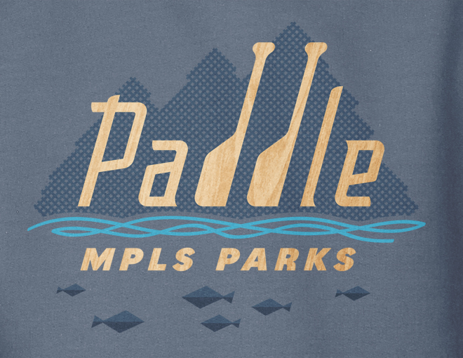 Detail of Paddle MPLS Parks design