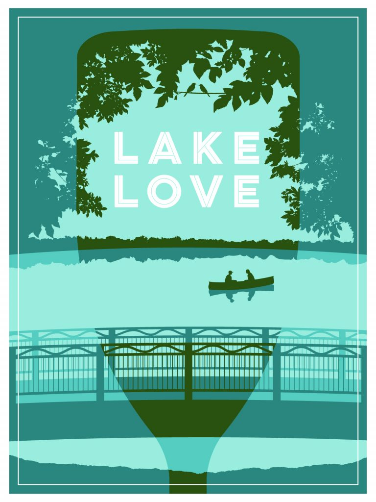 Lake Love poster by Sarah Huener