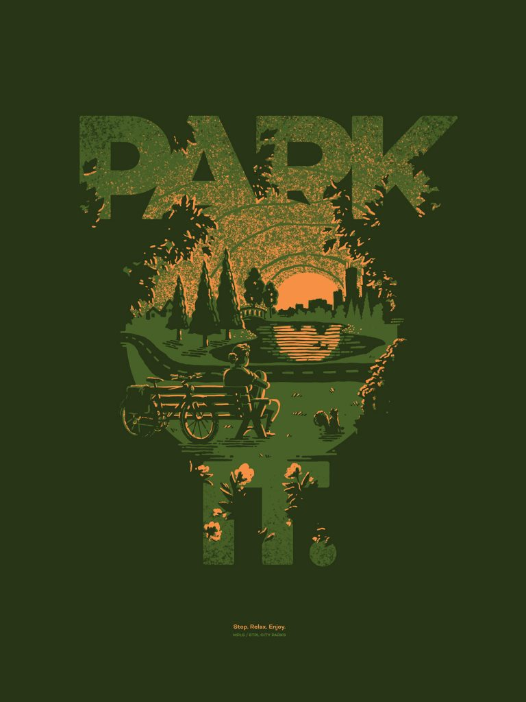 Park It. poster by Jesse Lindhorst