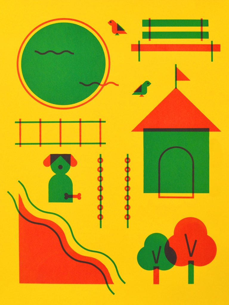 My Primary Playground poster by Lydia Bickal