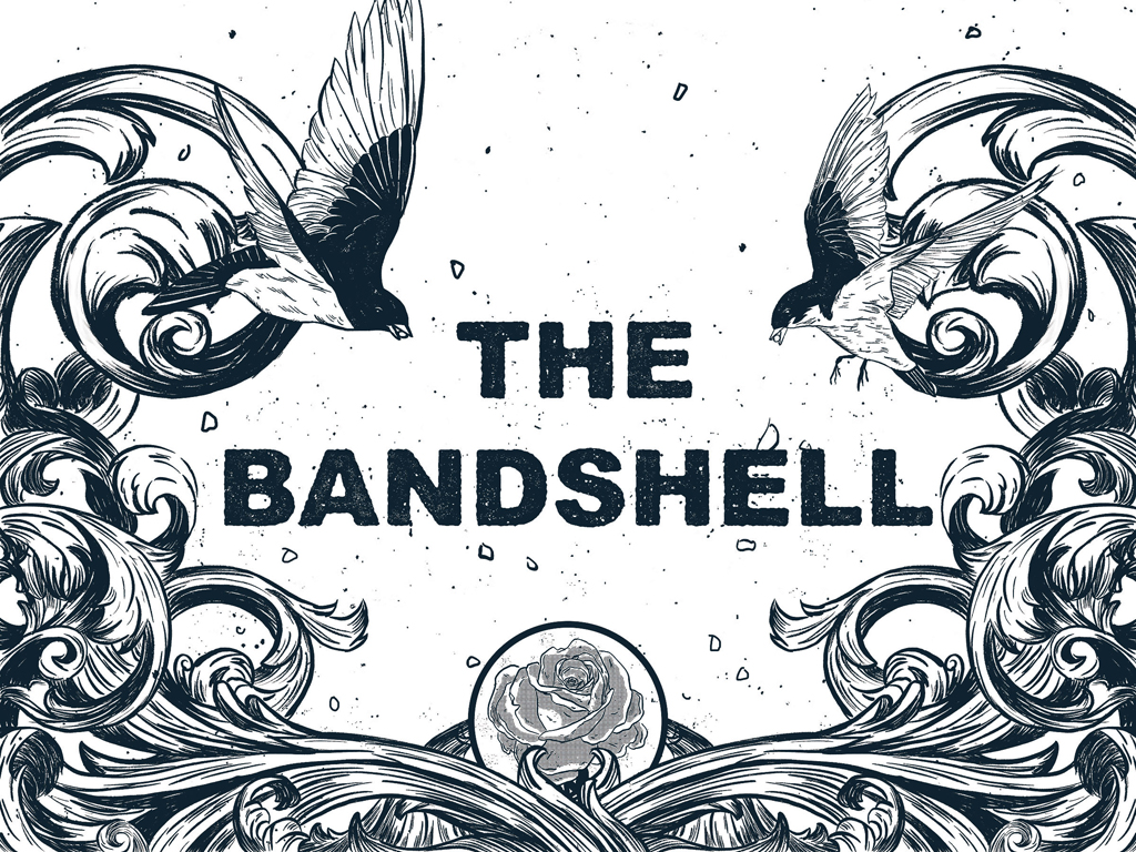 The Bandshell poster by Benjamin Currie