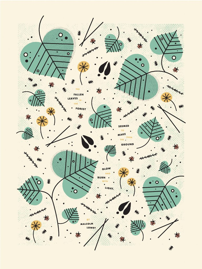 Forest Floor poster by Hannah Edwards