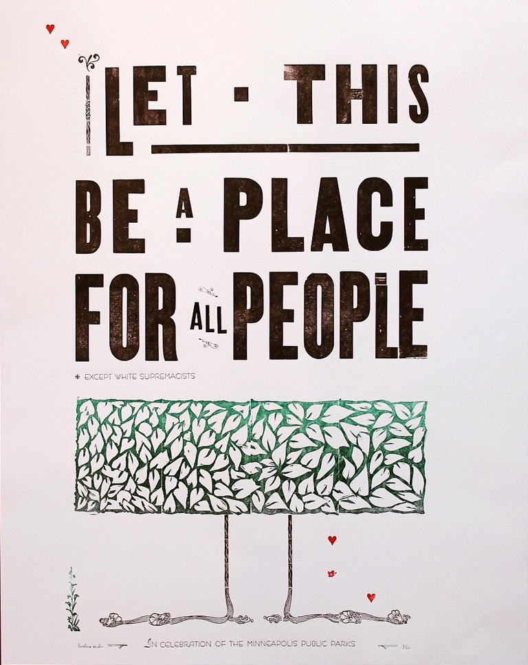 Let This Be A Place poster by Elana Schwartzman