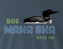 Detail of Bde Maka Ska Men's T-shirt