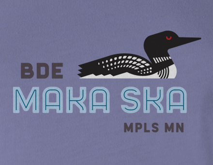Detail of Bde Maka Ska Women's T-shirt