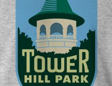 Detail of Tower Hill Park Men's T-Shirt