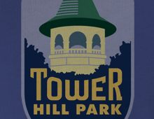 Detail of Tower Hill Park Women's T-Shirt