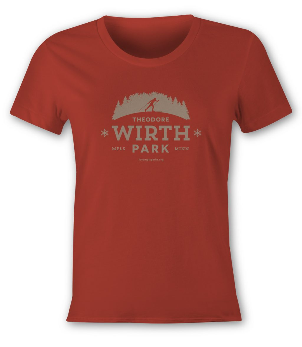Wirth Park Women's T-Shirt in red