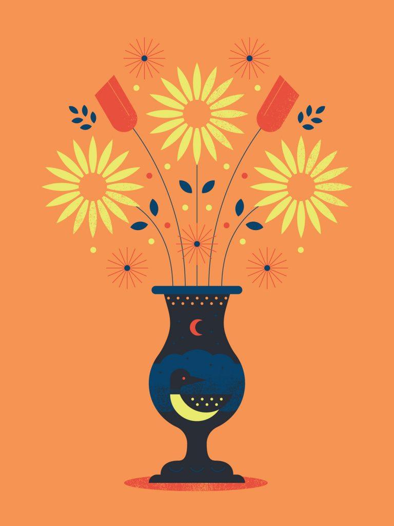 Moonlit Souvenir poster by Matt Erickson