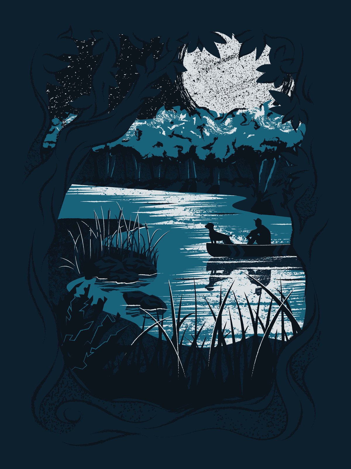Full Moon Rendezvous poster by Sierra Fosness