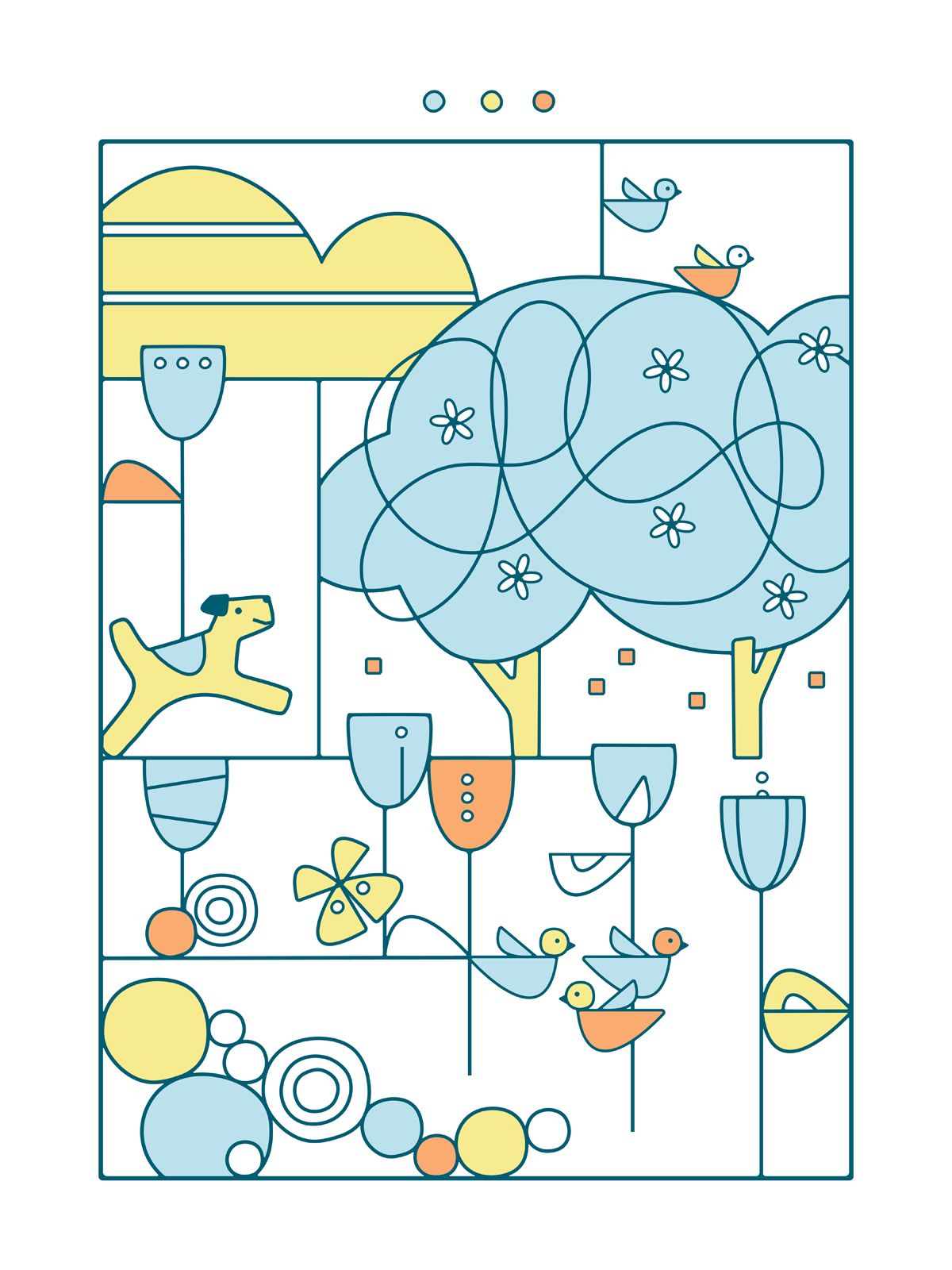 Bold Spirits poster by Monique Kantor
