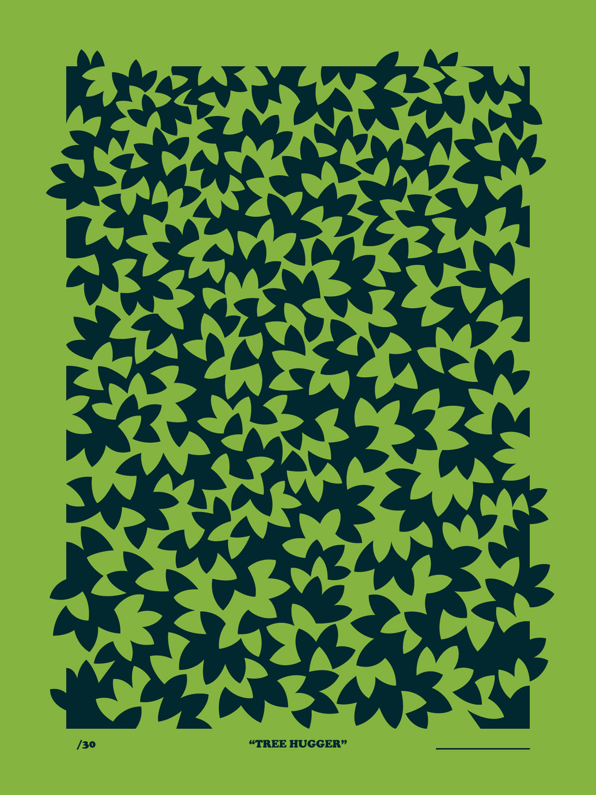 Tree Hugger poster by Austin Nash