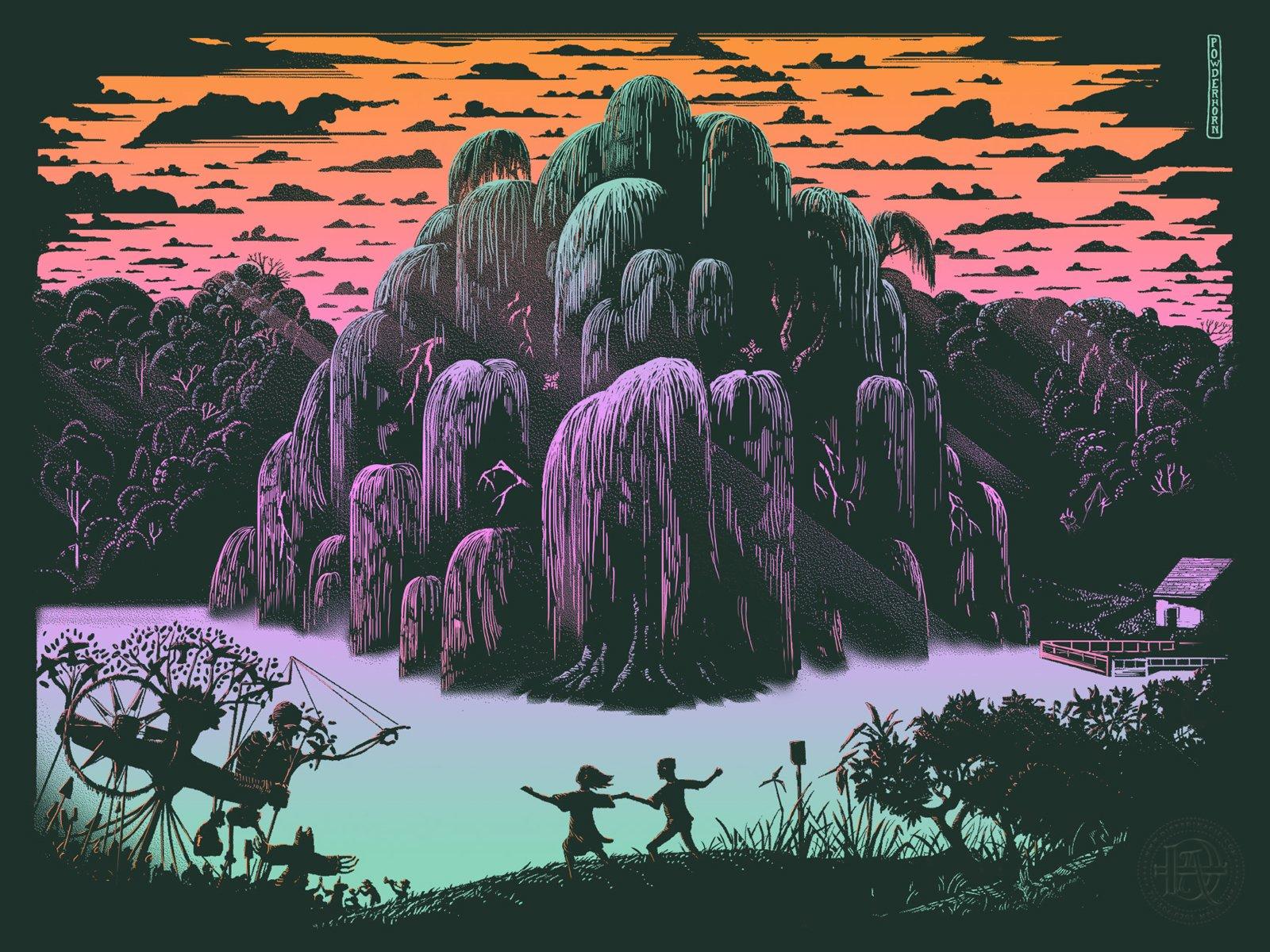 Spirits of Powderhorn poster by Lucas Richards