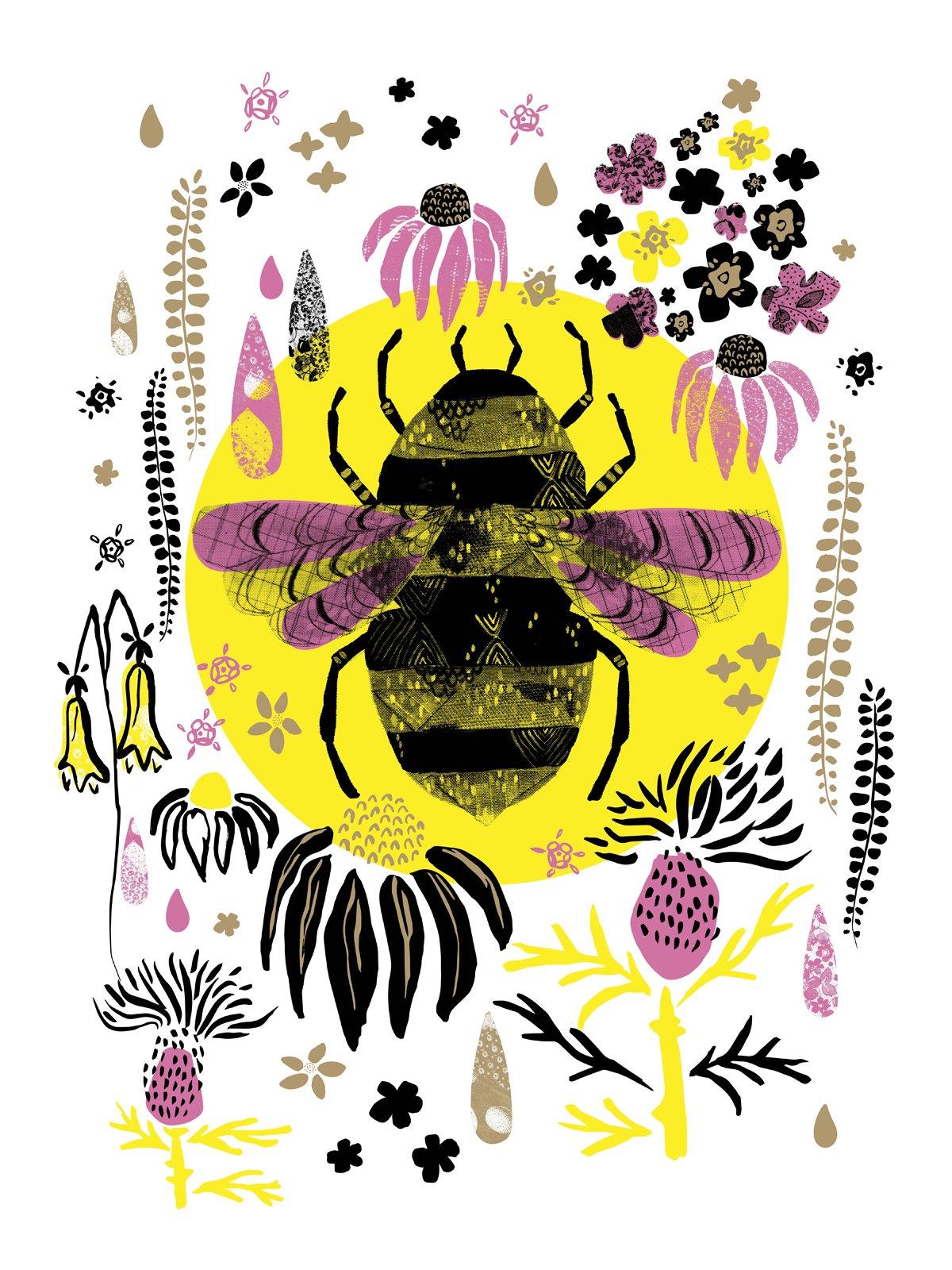 Wildflowers poster by Jessica Schneider