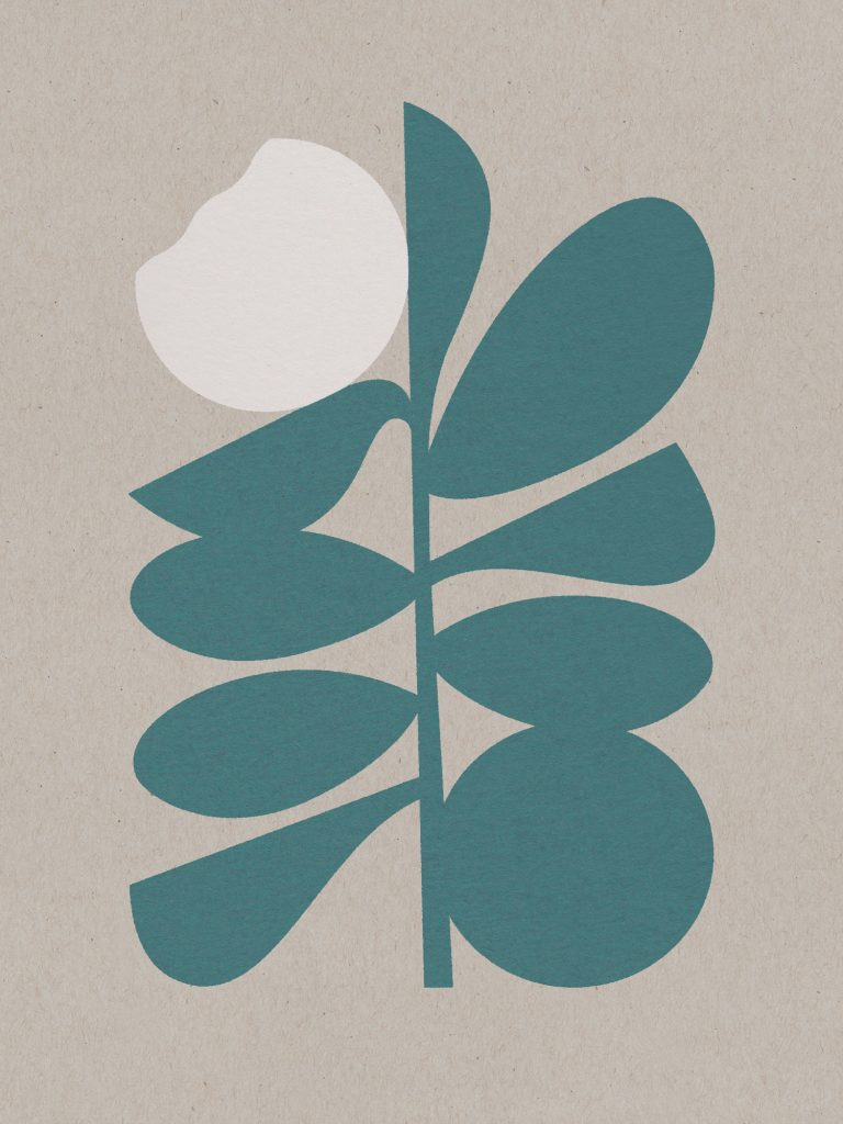 Wisdom of a Wallflower poster by Christina Fischer