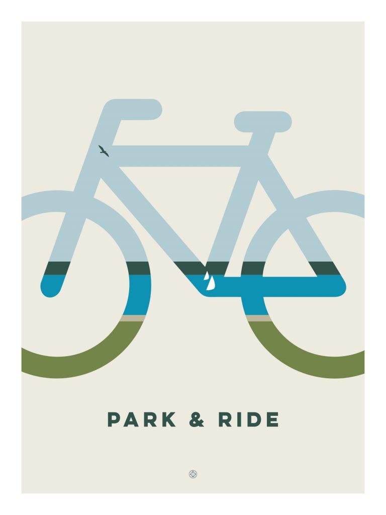 Park & Ride poster by Karl Schweikart