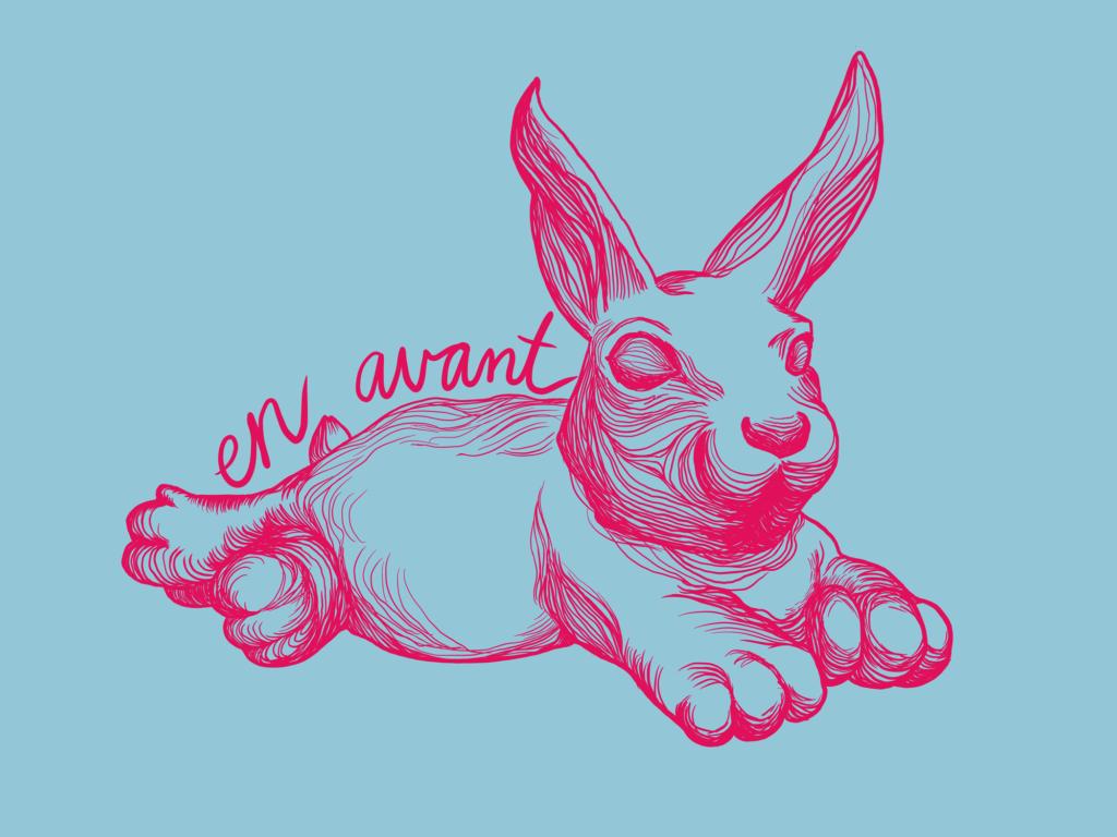 Minnehaha Bunny poster by Meher Khan