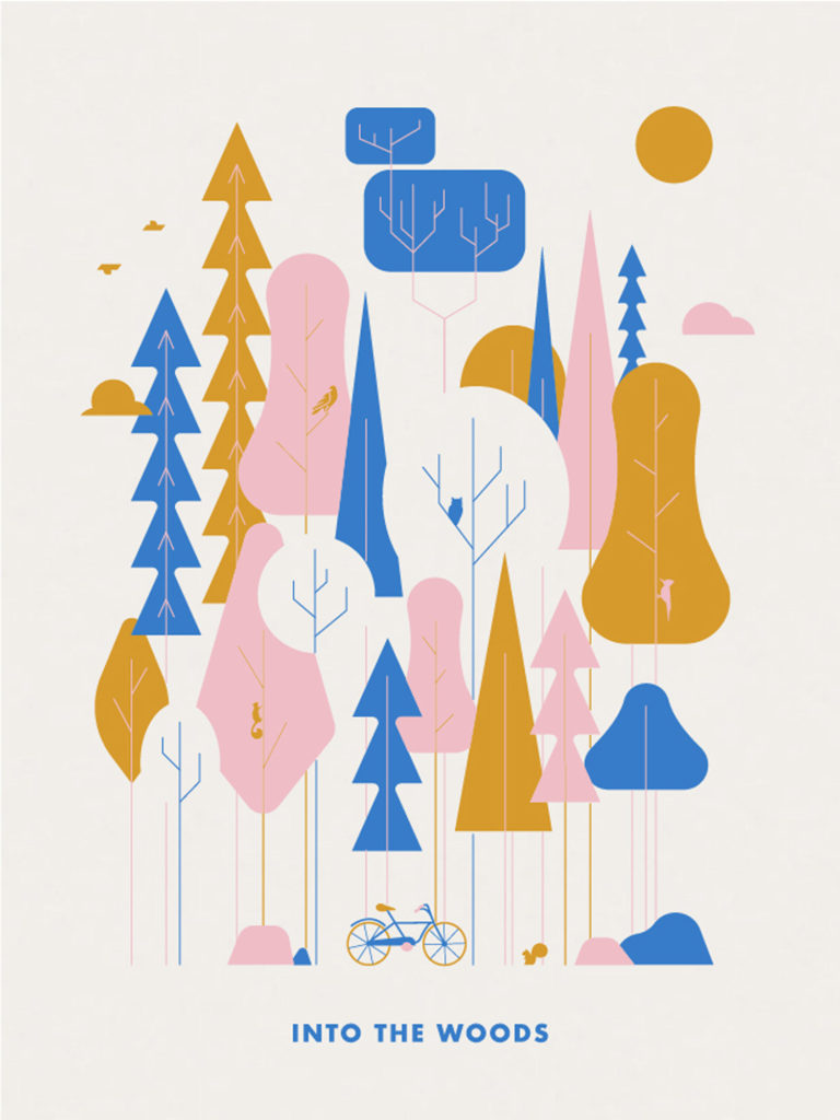 Into the Woods poster by Brandon Lord