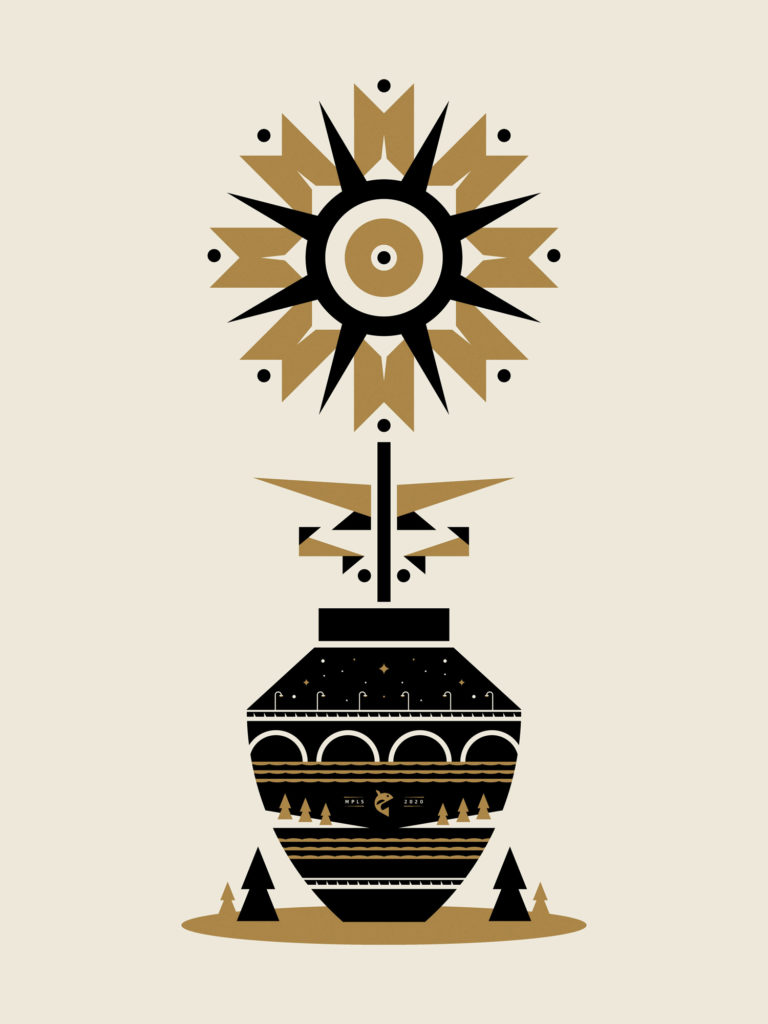 Stone & Vase poster by Torey Needham