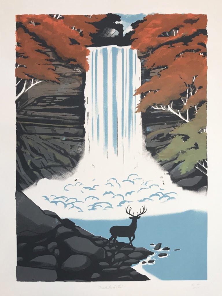Minnehaha Falls poster by Lucas Richards