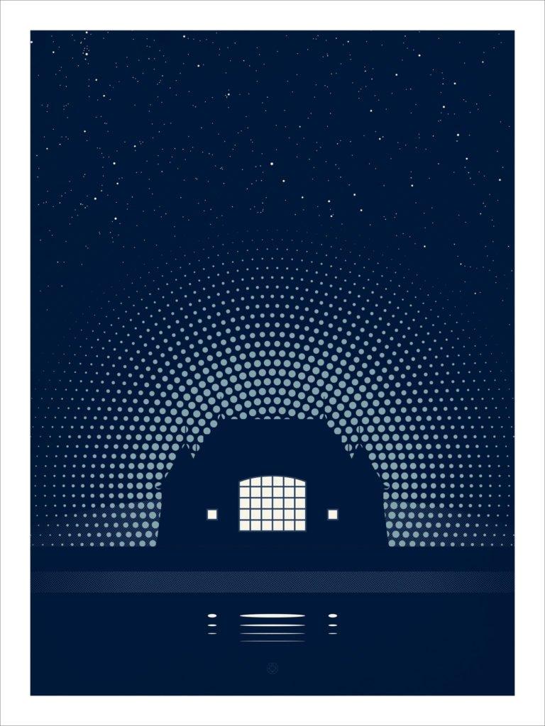 Night Music poster by Karl Schweikart