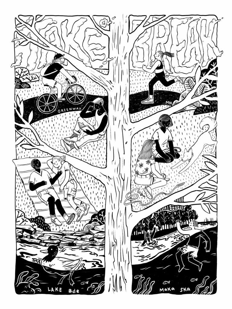 Take a Break poster by Chiny Soukhoummalay
