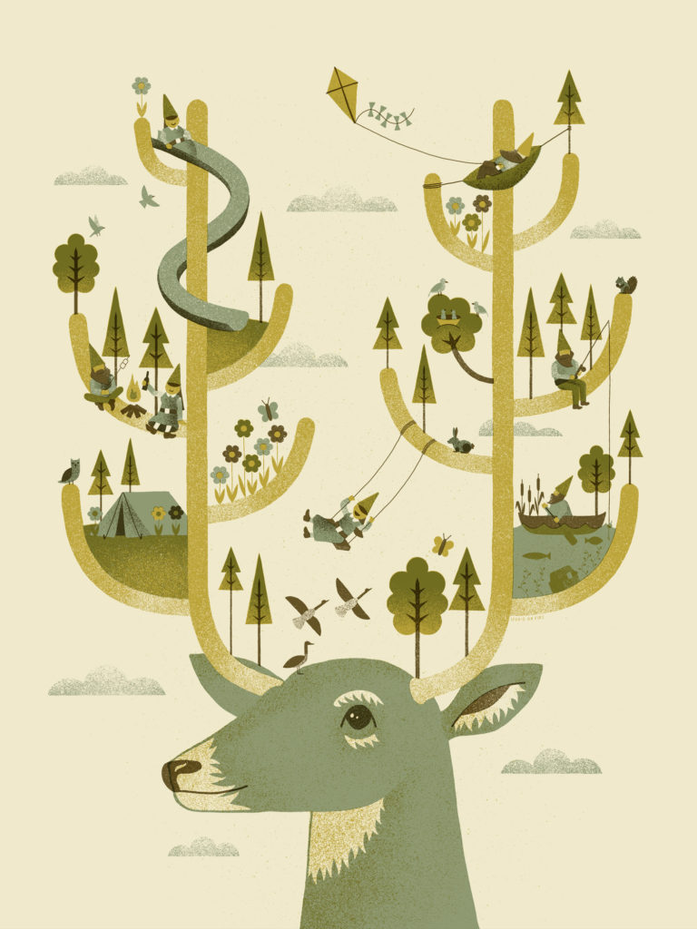 Antler Park poster by Studio on Fire